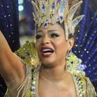 Juliana Alves, rainha da bateria da Unidos (Fernando Cazaes/AgNews)