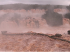 Vazão das Cataratas do Iguaçu sobe e fica 13 vezes acima do normal