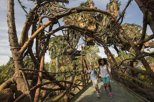 Pandora é a maior expansão da história do parque, inaugurado em 1998, em Orlando (Foto: Divulgação / Disney)