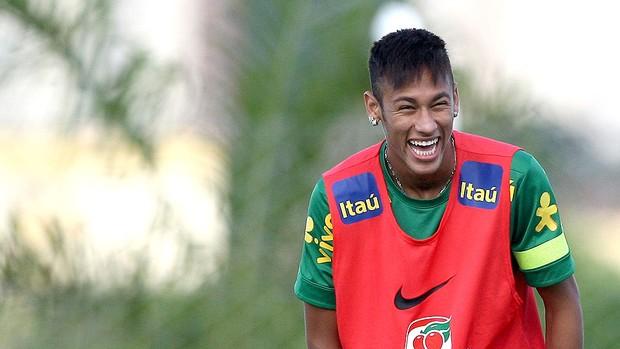 Neymar treino seleção brasileira Goiás  (Foto: Mowa Press)