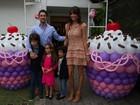 Marcos Mion comemora aniversário de 5 anos da filha Donatella