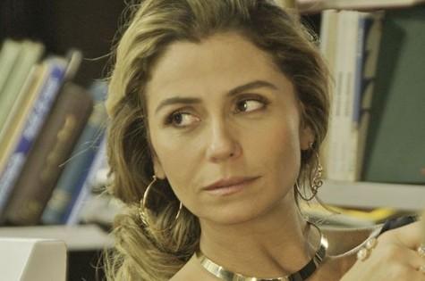 Giovanna Antonelli, a Atena de 'A regra do jogo' (Foto: TV Globo)
