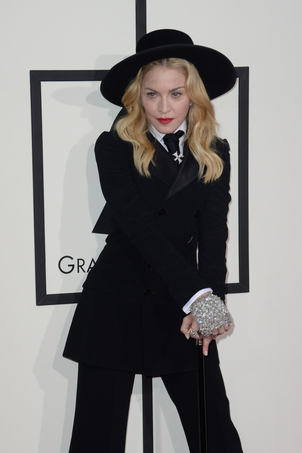 Madonna no Grammy Awards (Foto: AFP)