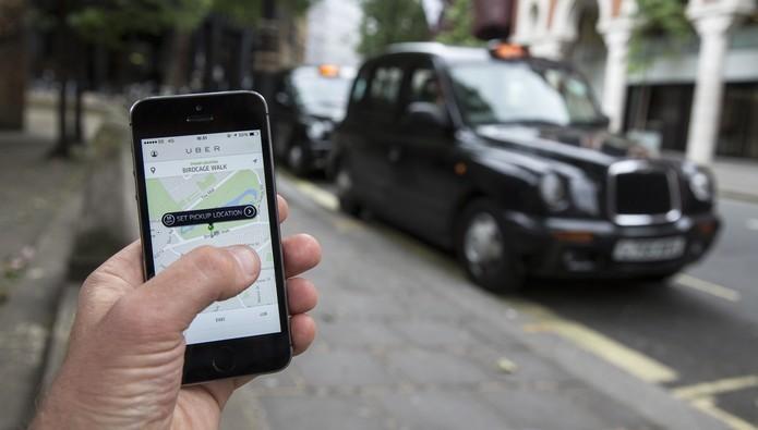 Veja como agendar uma viagem no Uber pelo celular (Foto: Divulgação/Uber)