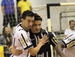 Corinthians encerrou a primeira fase da Liga Paulista invicto (Foto: Divulgação/Liga Paulista de Futsal)