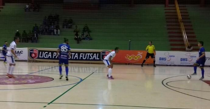 Dracena x Pompeia Copa Paulista de Futsal (Foto: Futsal Dracena / Divulgação)
