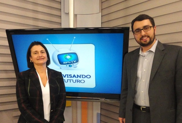 Televisando o Futuro (Foto: Divulgação/RPC TV)