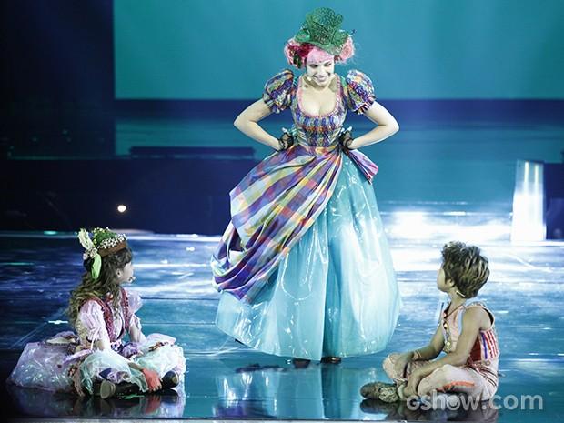 Bruna Linzmeyer leva magia de Meu Pedacinho de Chão para o palco do vem_aí (Foto: Inácio Moraes/Gshow)