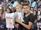 Justin Bieber e Katy Perry vão a prêmio de música no Canadá