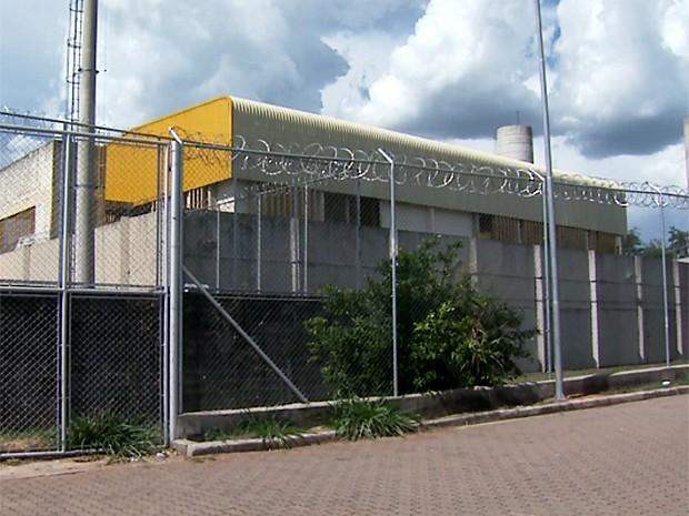 Unidade da Fundação Casa em Mogi Mirim (SP) (Foto: Reprodução EPTV)