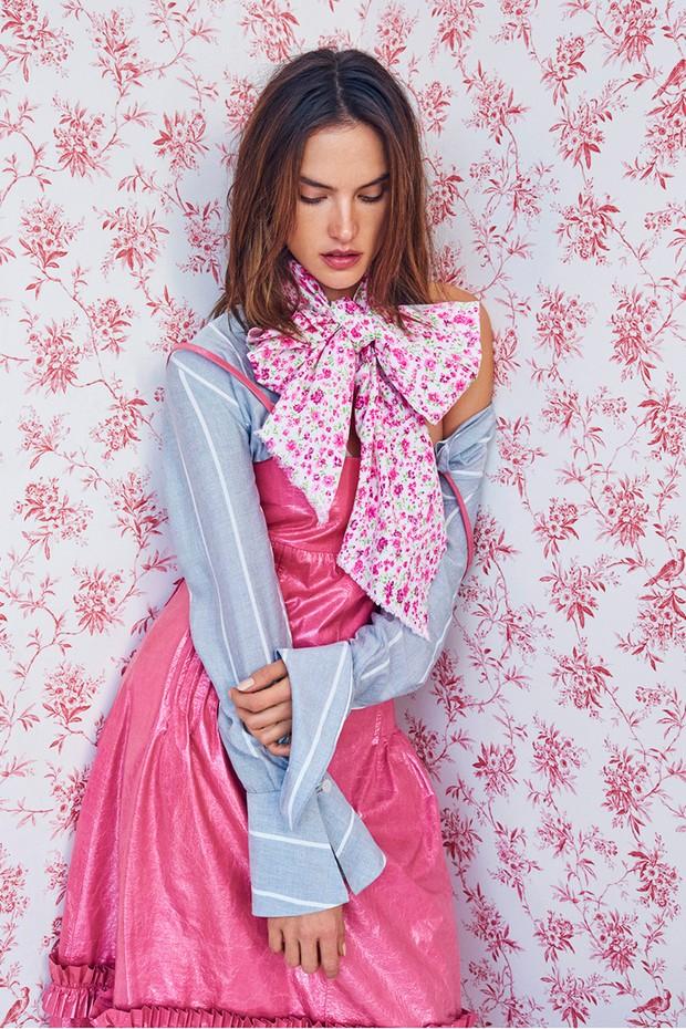 Alessandra Ambrosio (Foto: Mariano Vivanco/ Arquivo Vogue)