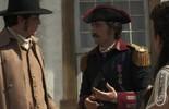 Tolentino ajuda Rubião a se explicar para Joaquina