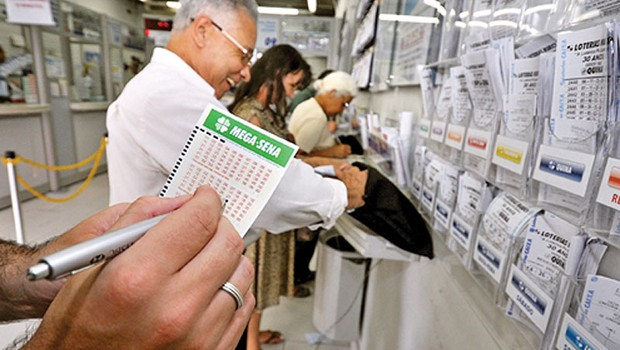 Casa lotérica aceita apostas para Mega-Sena até 19h (Foto: Reprodução/Facebook)