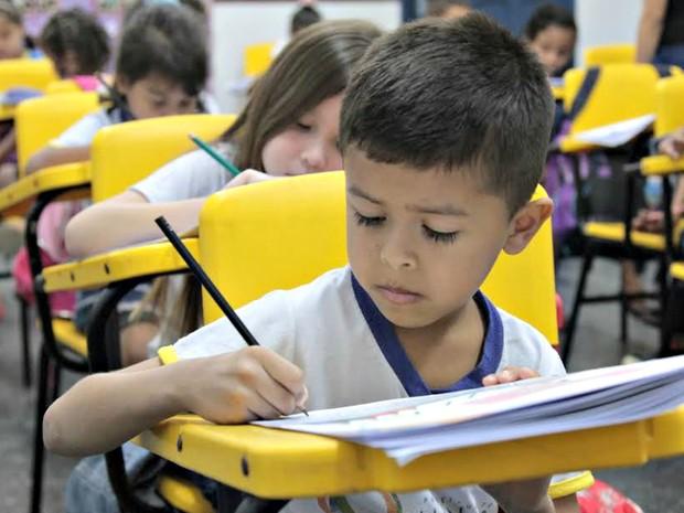 Rede municipal de ensino (Foto: Mário Oliveira/Semcom)