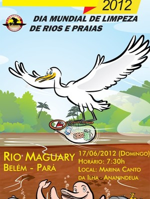 Flyer do Clean Up Day (Foto: Divulgação)