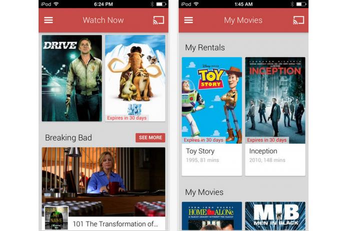 Google Play Filmes chega ao iOS sem permitir comprar ou alugar conteúdo usando iPhone ou iPad (Foto: Reprodução/App Store) (Foto: Google Play Filmes chega ao iOS sem permitir comprar ou alugar conteúdo usando iPhone ou iPad (Foto: Reprodução/App Store))