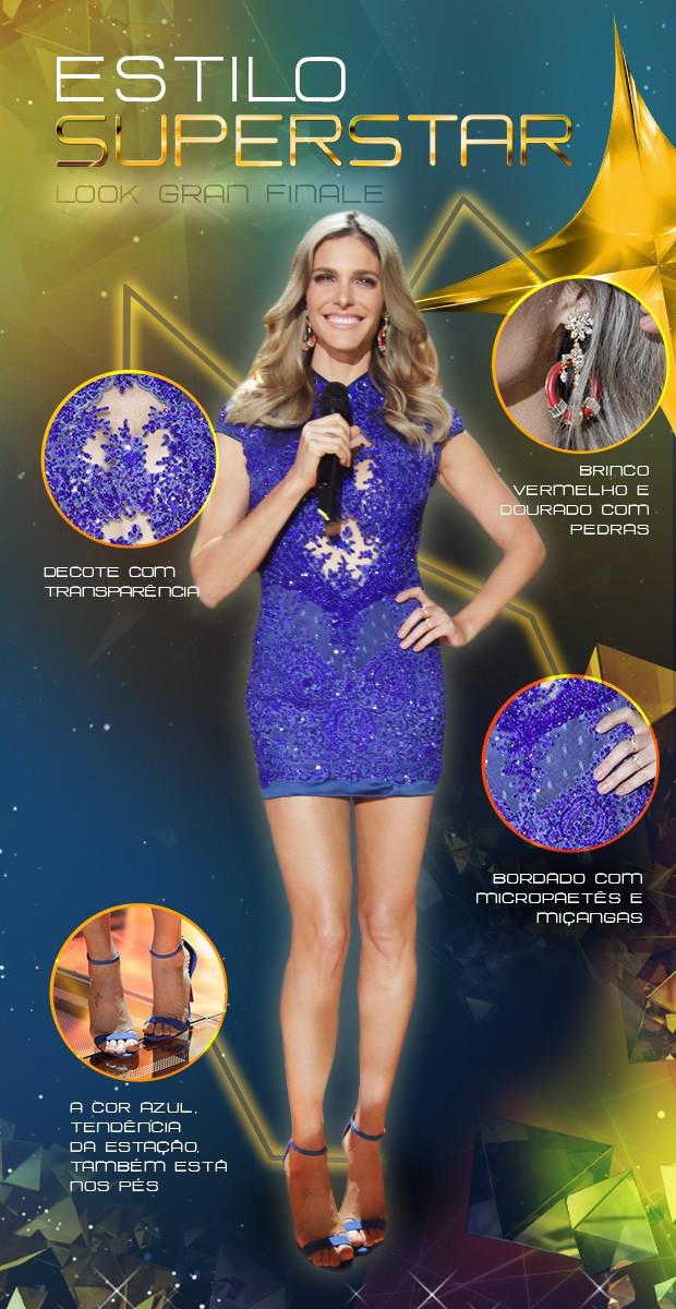 Look Fe Lima (Foto: SuperStar / TVGlobo)