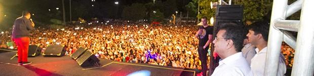 Show gospel inédito reúne mais de 10 mil pessoas em Corumbá (Divulgação)