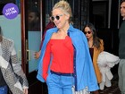 Look do dia: Kate Hudson aposta no visual jeans para passear em NY