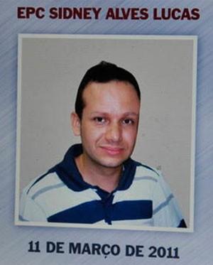 Escrivão Sidney, assassinado em março de 2011 (Foto: Divulgação/Polícia Civil do RN)