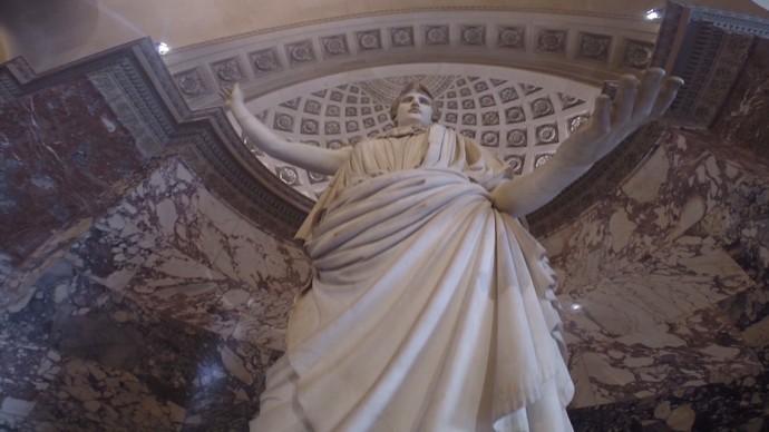O Louvre é uma das reprises mais pedidas e vistas do 'Aprovado' (Foto: TV Bahia)
