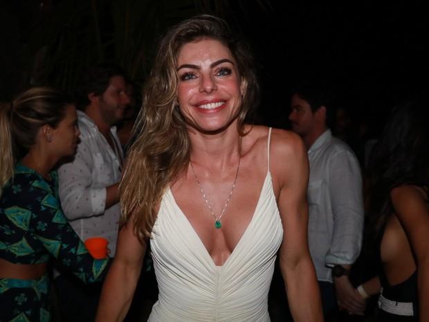 Daniella Cicarelli em festa em Trancoso, na Bahia (Foto: Fred Pontes/ Divulgação)