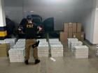 Homem é preso com mais de 1,4 mil maços de cigarro em rodovia no Acre