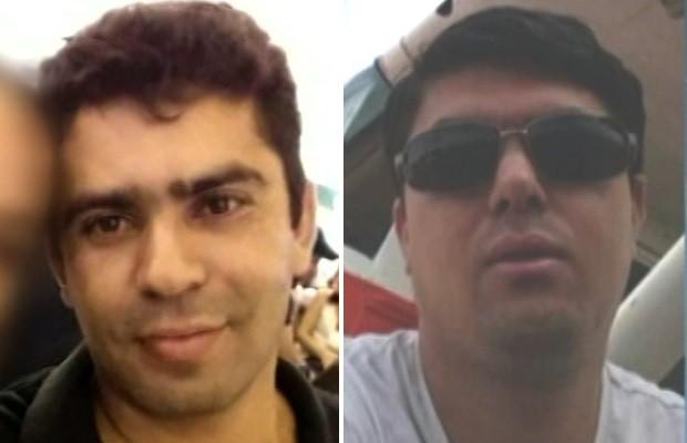 Paulo Roberto e Fabiano morreram após queda de avião em Bom Jesus de Goiás (Foto: Reprodução/TV Anhanguera)