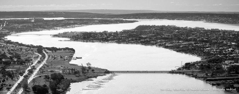 As três pontes do Lago Sul  (Foto: Bento Viana)