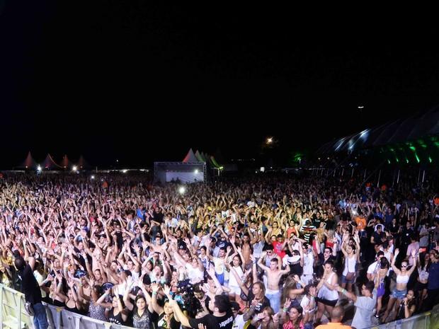 Festa de música eletrônica na Zona Sul do Rio (Foto: Ari Kaye/ Divulgação)