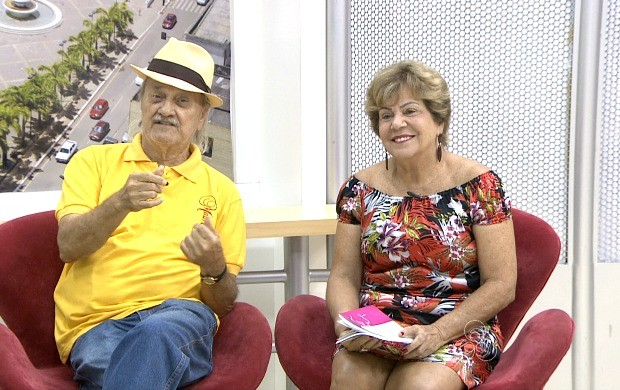 Mauro Modesto e Edir Figueira escreveram livro falando das confidências trocadas entre o casal (Foto: Bom Dia Amazônia)