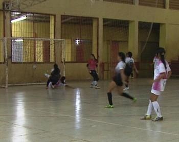 Copa Cidade de Rio Branco de Futsal feminino (Foto: Reprodução/Rede Amazônica Acre)