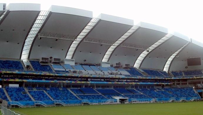 Arena das Dunas, em Natal (Foto: Fred Carvalho / GloboEsporte.com)