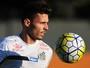 """Zeca quer levar estilo """"europeu"""" do Santos para seleção na Olimpíada"""