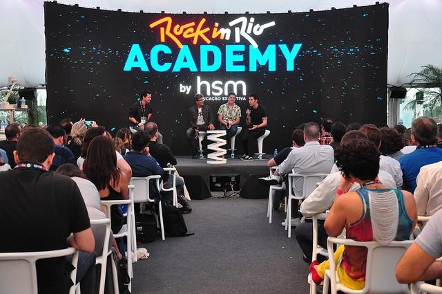 Em 2015 aconteceu a primeira edição do Rock in Rio Academy by HSM no Rio de Janeiro (Foto: Rock in Rio)