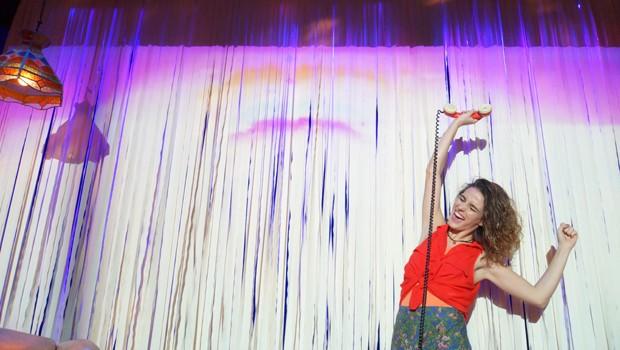 Priscila Steinman em cena de 'Rita Formiga' (Foto: Divulgação)