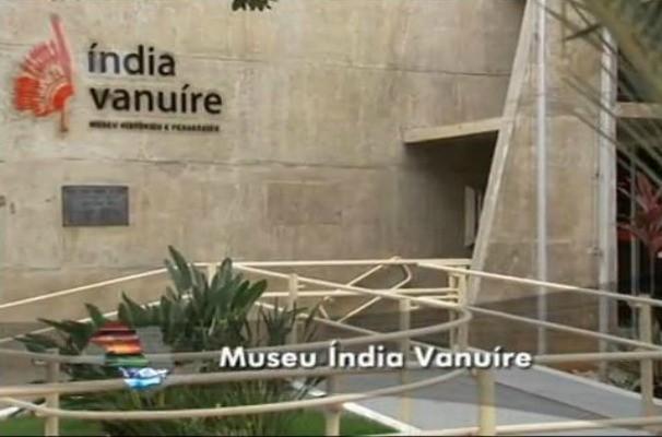 Museu Índia Vanuíre em Tupã  (Foto: Reprodução / TV TEM)