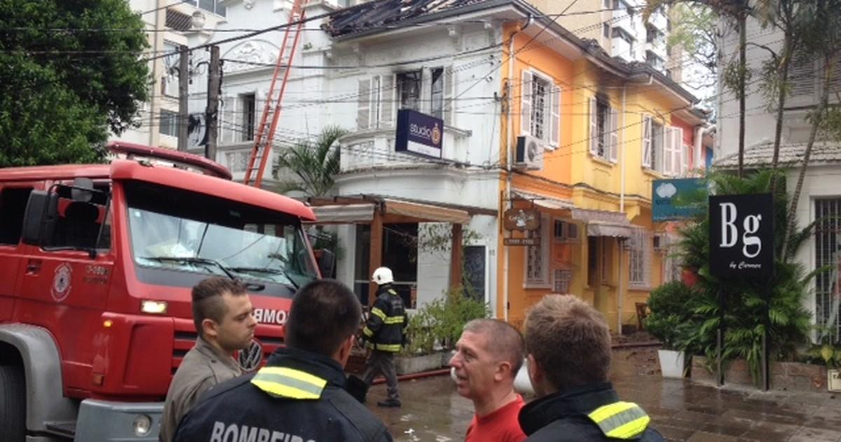 Incêndio atinge prédio comercial em Porto Alegre, mas ninguém se ... - Globo.com