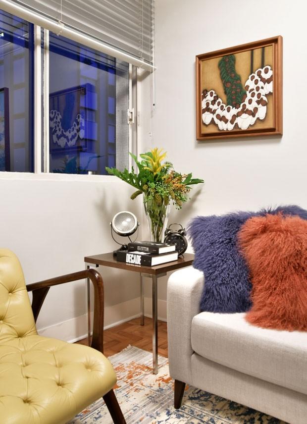 Mix entre o antigo e o novo transforma apartamento (Foto: Sidney Doll)