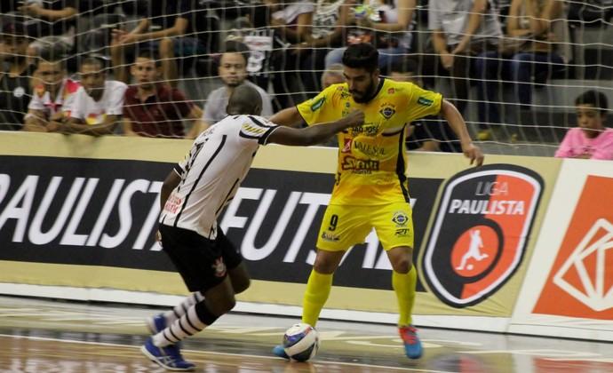 Corinthians Futsal x São José Futsal Liga Paulista 2016 (Foto: Quarttus Marketing/Divulgação)