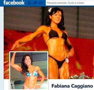 Fabiana Caggiano era campeã de fisioculturismo (Foto: Reprodução/Facebook)