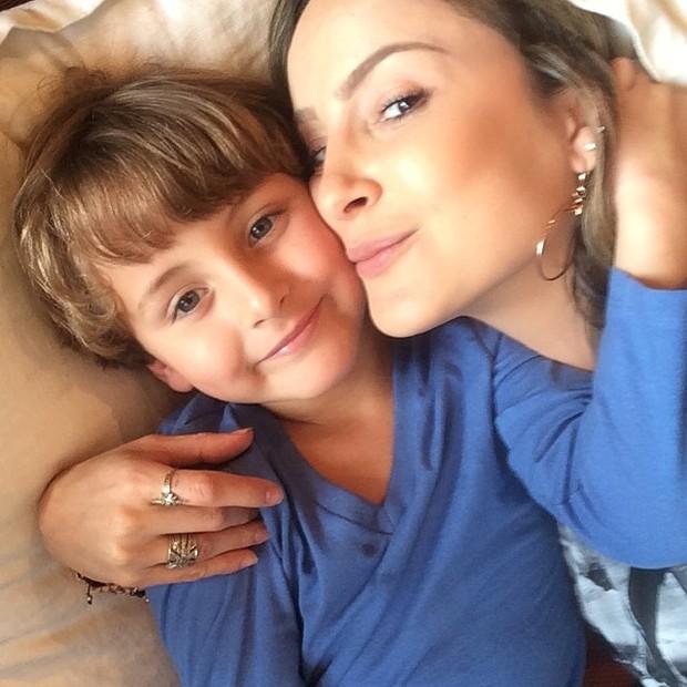 [Dia das Mães] Claudia Leitte e os filhos (Foto: Instagram/Reprodução)