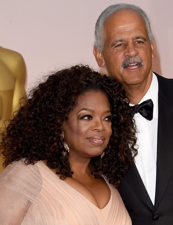 Oprah e Stedman (Foto: Getty Images)