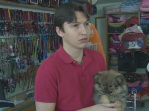 O empresário Max foi o primeiro a trazer a homeopatia veterinária para Porto Velho (Foto: Reprodução/TV Rondônia)