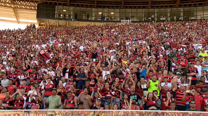 Resultado de imagem para América-MG x Flamengo torcida
