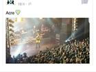 'Triste', diz Anitta após comentário preconceituoso sobre show no Acre