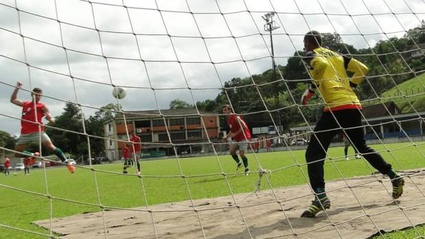 Metropolitano treina forte no sábado, dia 5 de janeiro (Foto:  Giovani Vitória, divulgação / Metropolitano)