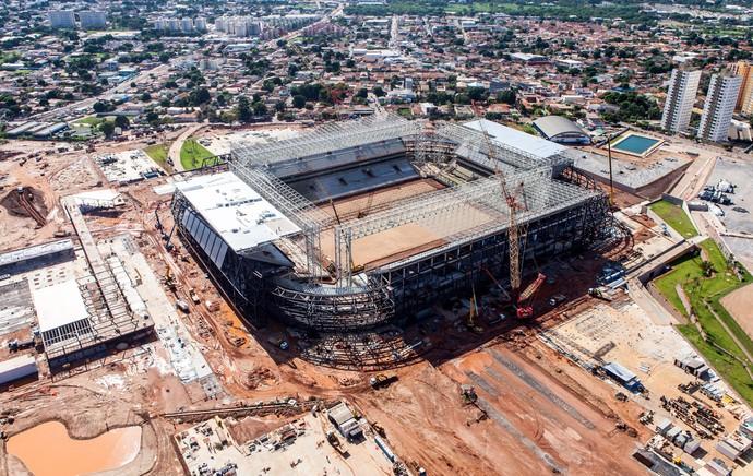 estádio arena  cuiabá pantanal (Foto: Divulgação  )