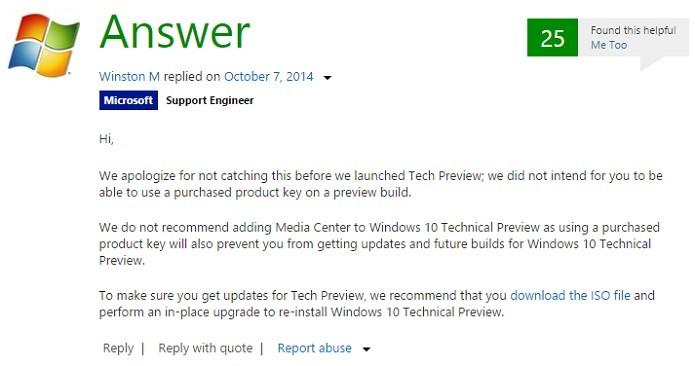 Microsoft confirmou bug e recomendou reinstalação do Windows (Foto: Reprodução/Aline Jesus)