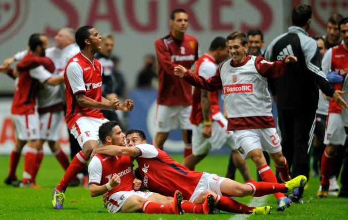 Salvador Agra Braga Benfica (Foto: AFP)
